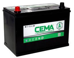 Baterías Cema CB1001J - BATERIA CEMA -A-  100 AH  750 A (+ -)