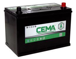 Baterías Cema CB1000J - BATERIA CEMA -A-  100 AH  750 A (- +)