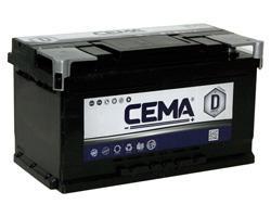 Baterías Cema CB800 - BATERIA CEMA -D-  80 AH  720 A (- +)