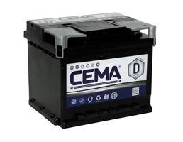 Baterías Cema CB450 - BATERIA CEMA -D-  44 AH  360 A (- +)