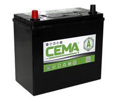 Baterías Cema CB450J - BATERIA CEMA -A-  45 AH  330 A (ESTRECHA)
