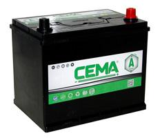 Baterías Cema CB800J - BATERIA CEMA -A-  80 AH  540 A (- +)