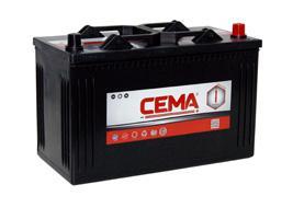 Baterías Cema CB1100 - BATERIA CEMA -I-  110AH 750 A (- +)
